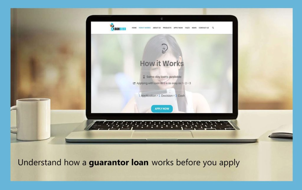understand how a guarantor loan works before you apply