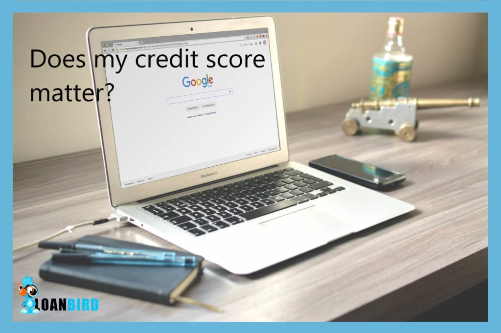 does a credit score matter when applying for same day loans