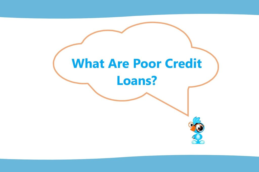 a loanbird introduction into poor credit loans